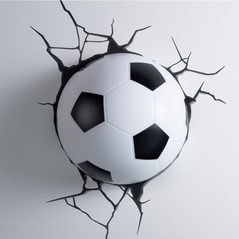 3D-Lampe: Fussball