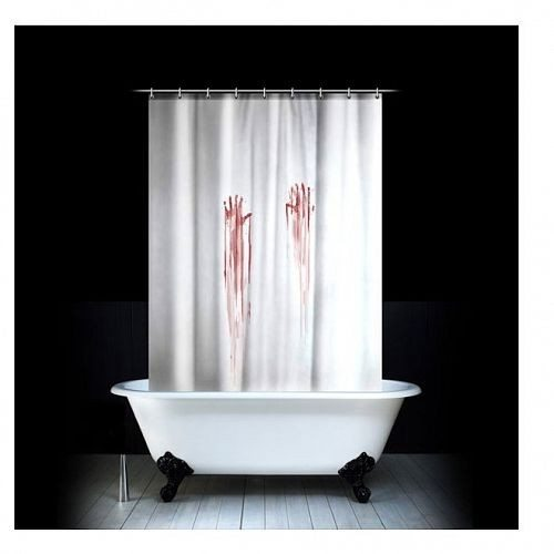 Blutbad-Duschvorhang
