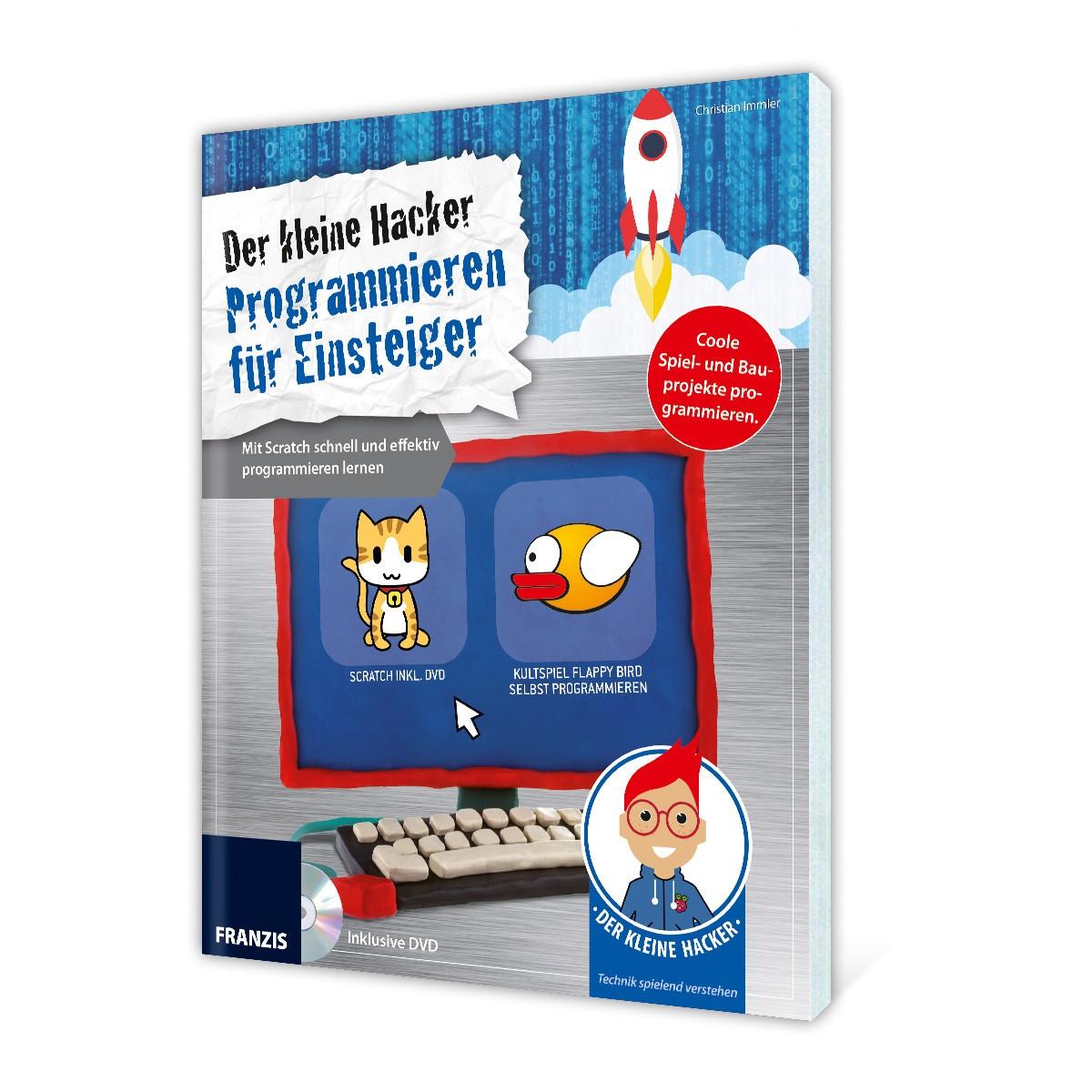 Buch und DVD – Der kleine Hacker