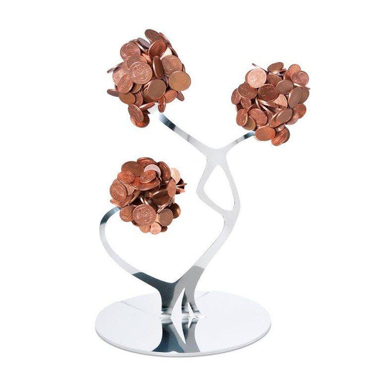 """Design-Münzhalter """"Kleine Blume"""""""