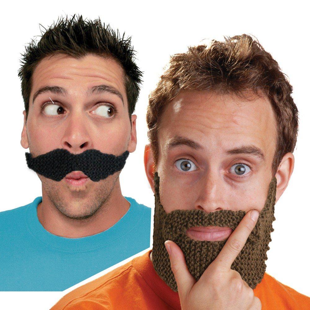 DIY - Bart zum Selbststricken
