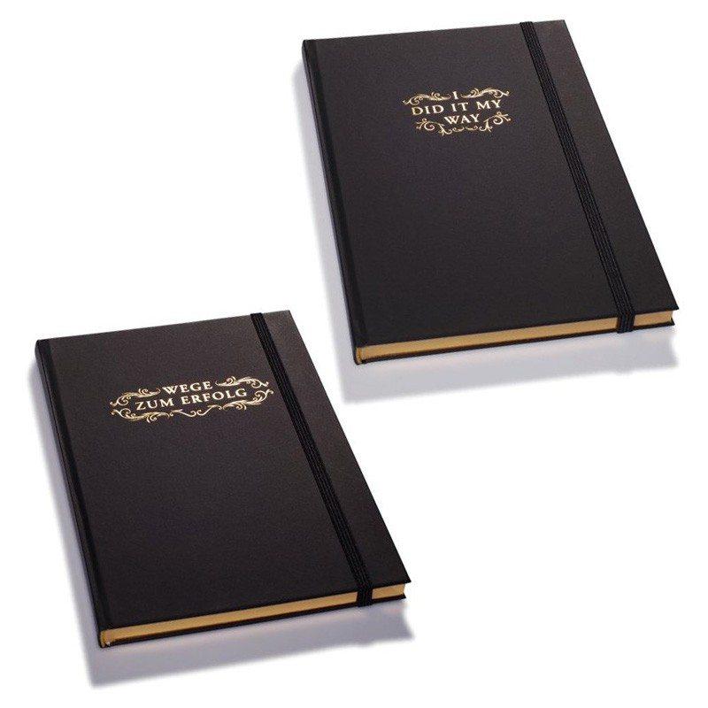 Edle Notizbücher für große Gedanken