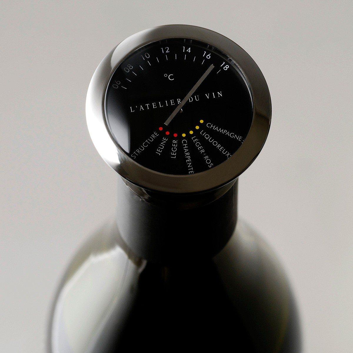Edles Weinthermometer von Atelier du Vin