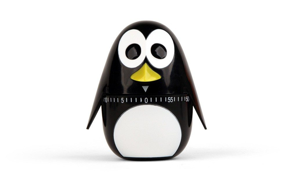 Eieruhr Pinguin seitlich