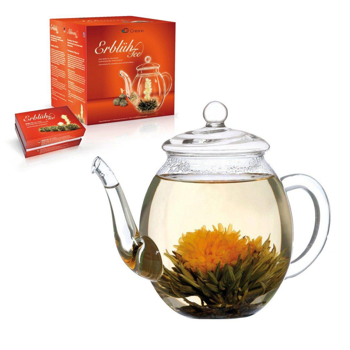 """ErblühTee Geschenkset """"Weißer Tee"""""""