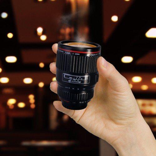 Espressotasse-Kameraobjektiv