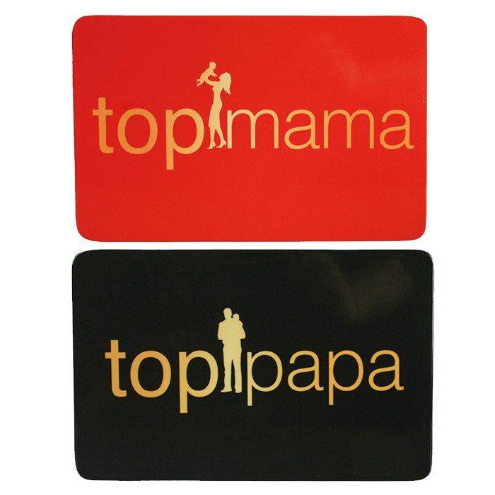 Frühstücksbrettchen Top-Mama / Top-Papa
