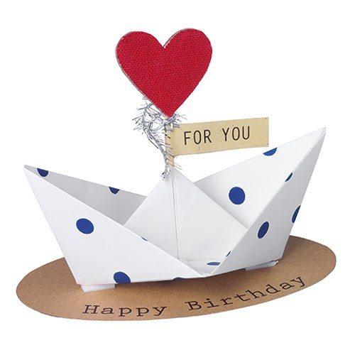 """Geschenkbotschaft """" Happy Birthday!"""
