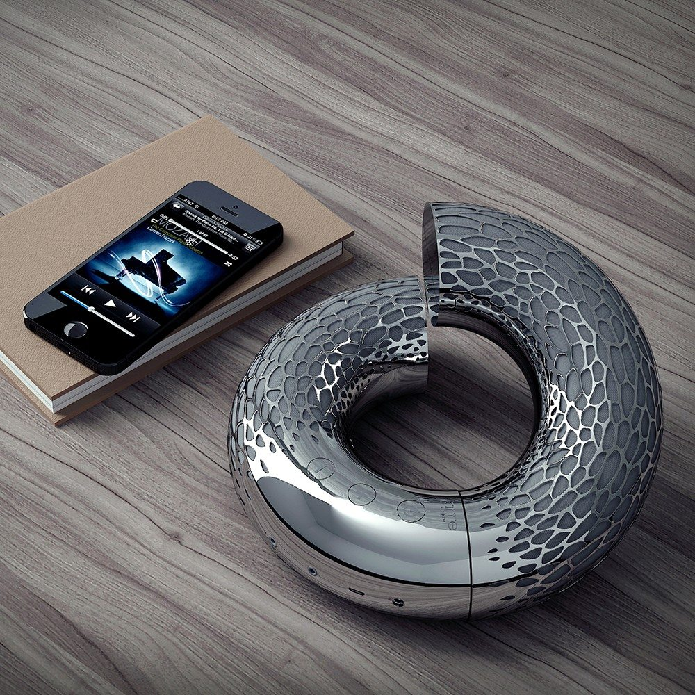 AeroTwist - eleganter Bluetooth-Lautsprecher