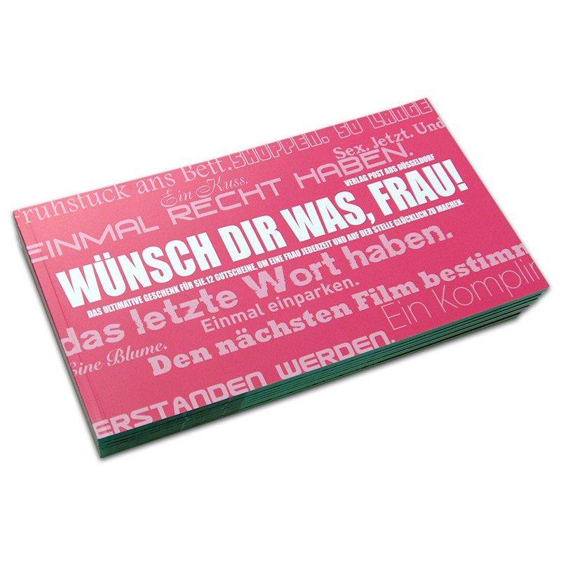 """Gutscheinbuch """"Wünsch dir was, Frau!"""""""