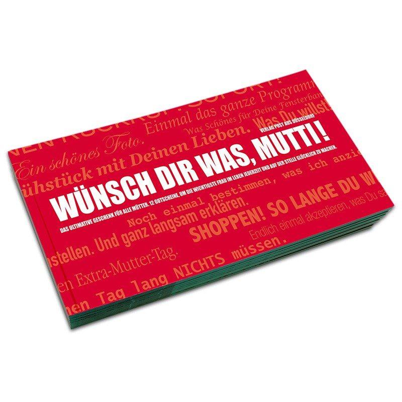 """Gutscheinbuch """"Wünsch dir was, Mutti!"""""""
