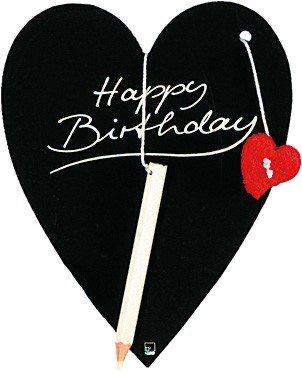 Happy Birthday Herztafel