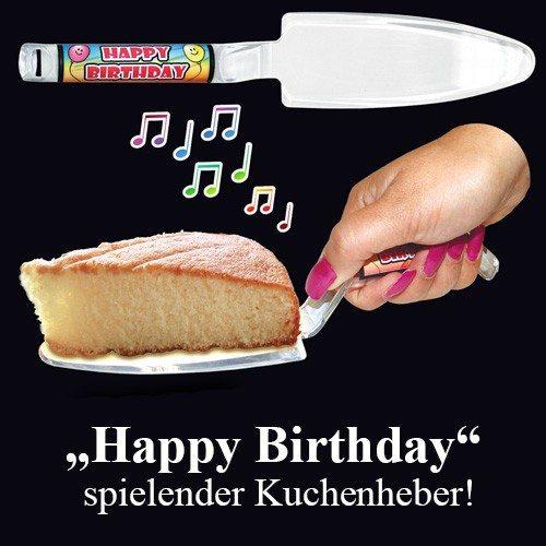 Happy Birthday - Musikalischer Tortenheber