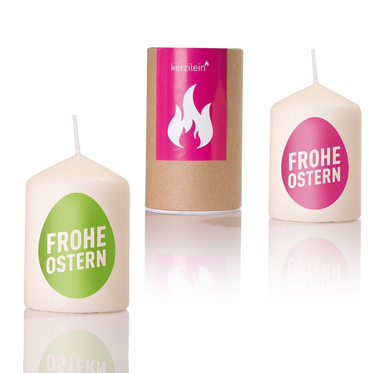 """Kerze """"Frohe Ostern"""""""