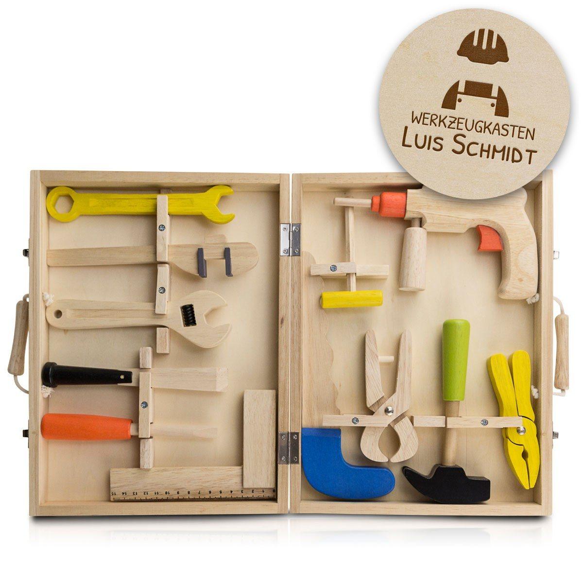 Kinder-Werkzeugkoffer mit Personalisierung