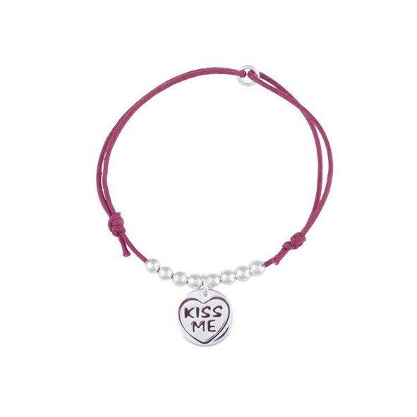 Kiss Me Armbänder - Rot