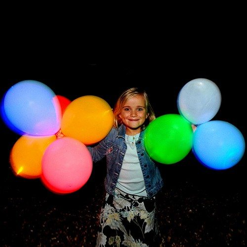 Leuchtende LED Luftballons
