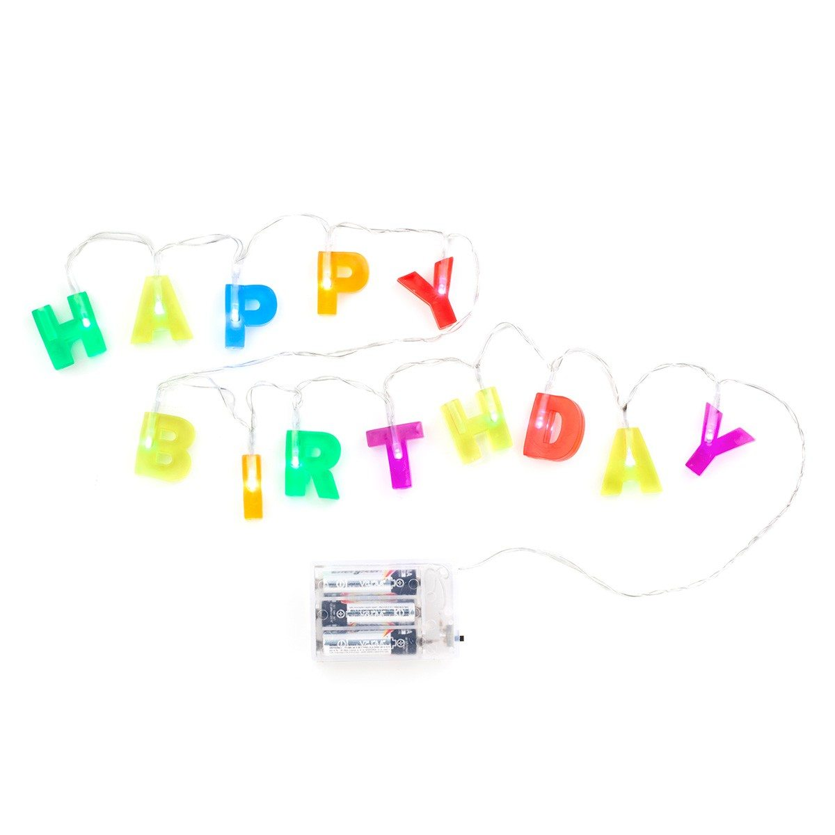 """Lichterkette """"Happy Birthday"""""""