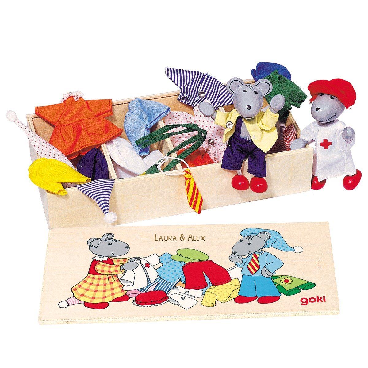 Mäuse-Verkleidungsset mit Namen