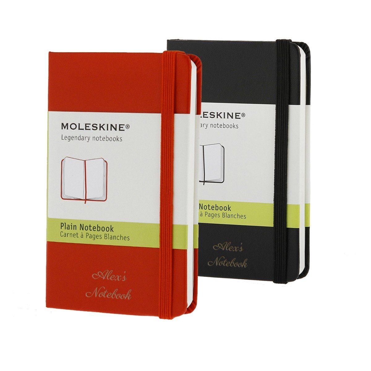Moleskine-Notizbuch mit Gravur