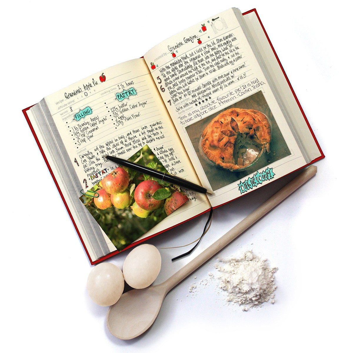 Persönliches Familien-Kochbuch