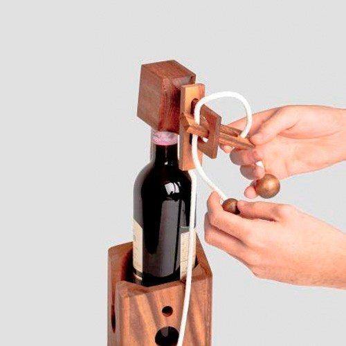 Raffiniertes Flaschenpuzzle