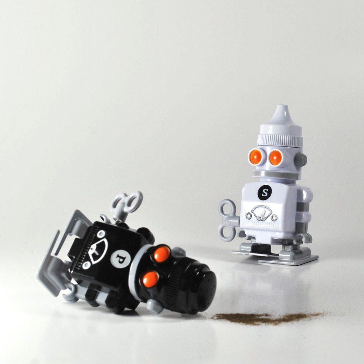 Salz und Pfeffer Roboter