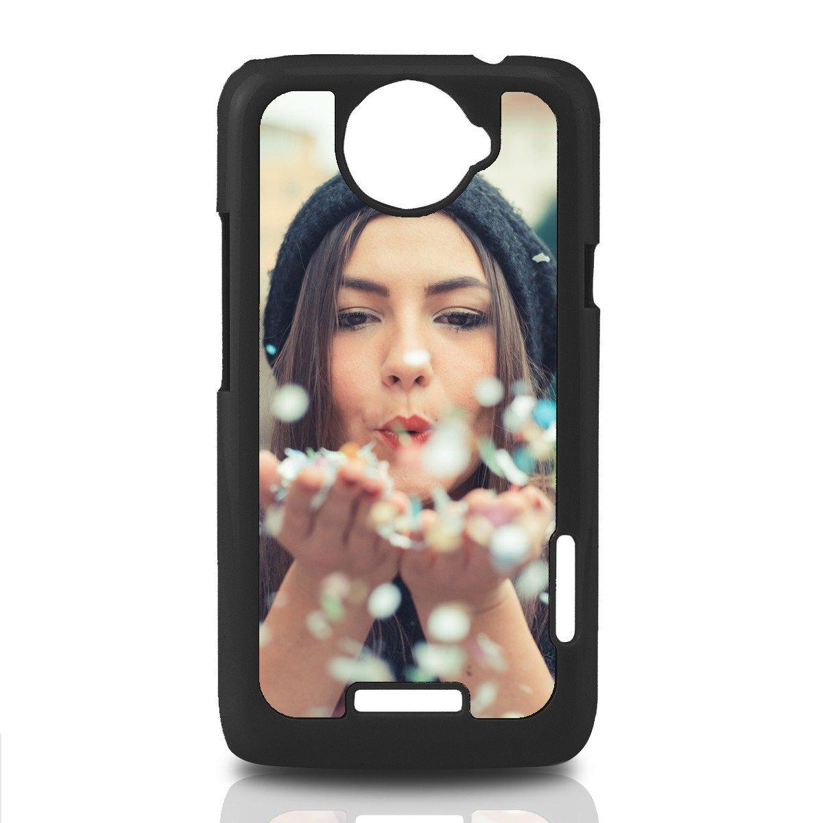 "Schwarzes ""HTC One X""-Cover bedrucken"