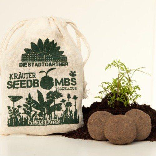 Seedbombs - für alle Blumenkinder! - Wildkräuter