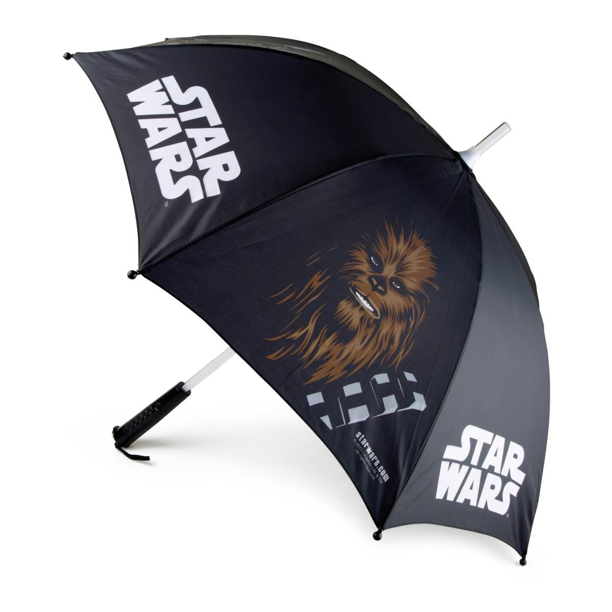 """Star Wars: Leucht-Regenschirm """"Lichtschwert"""""""
