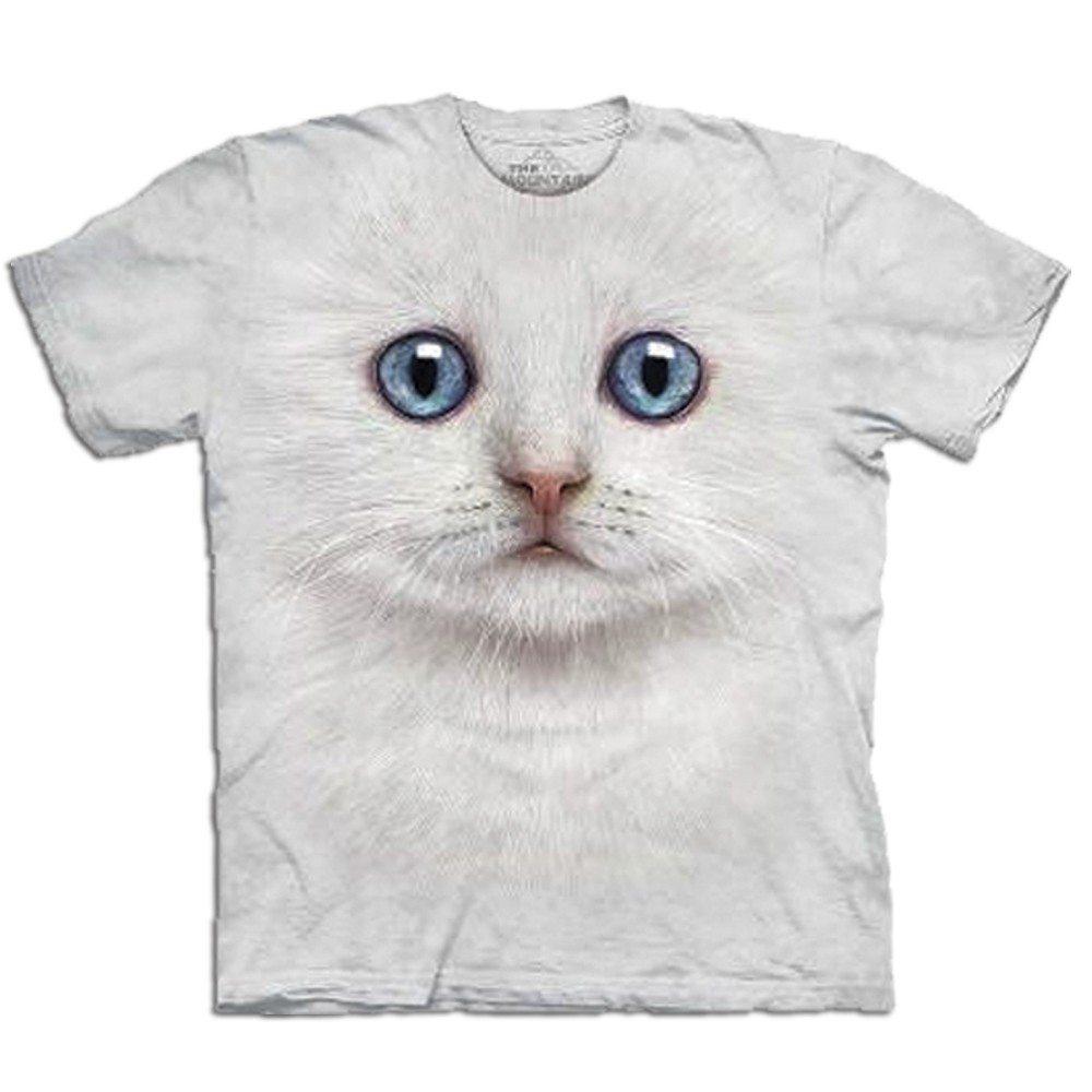 T-Shirt Big Face Katze