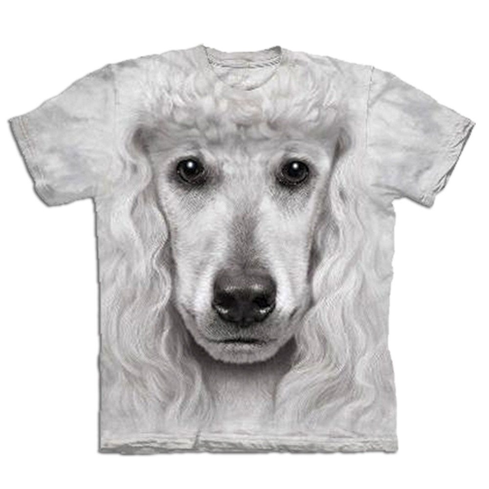 T-Shirt Big Face Pudel