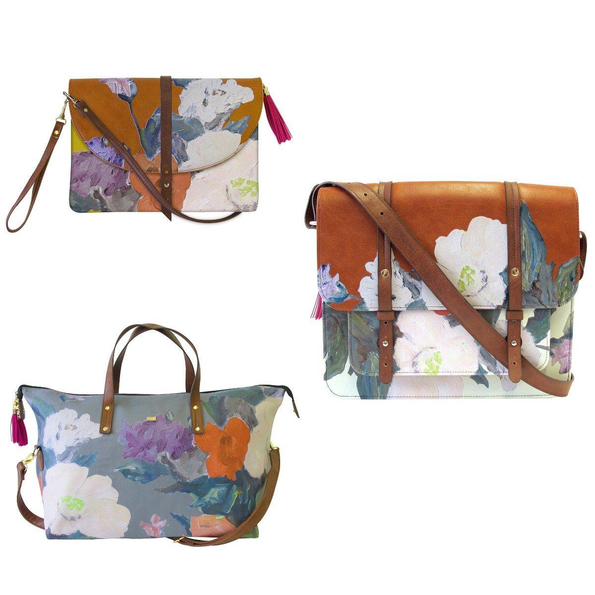 Taschen im Gemälde-Look