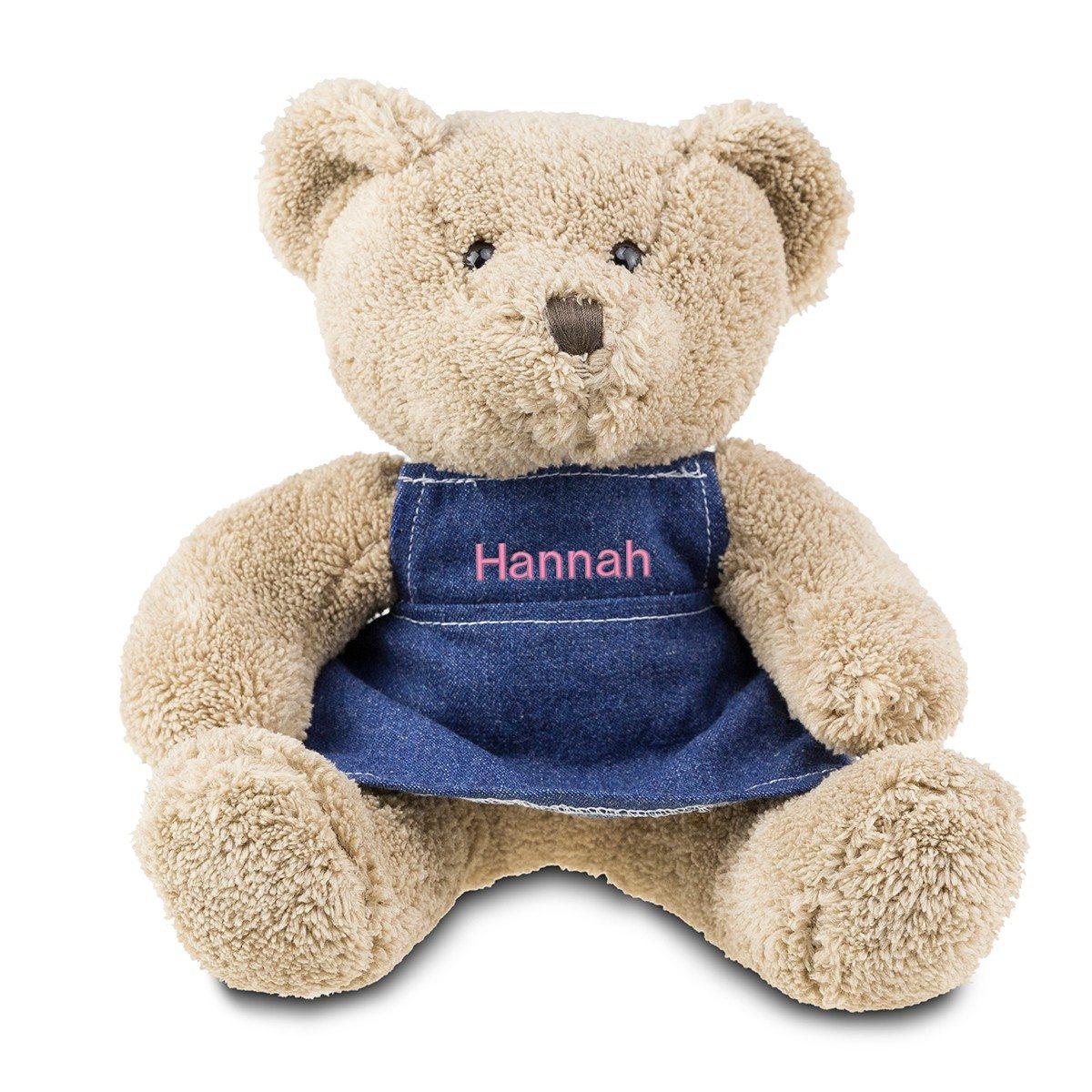Teddybär mit Kleid und Namen