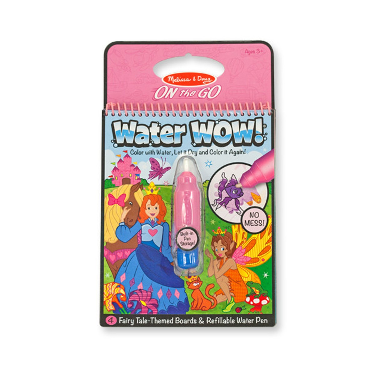 "Water Wow! - Das Wassermalbuch ""Fee"""