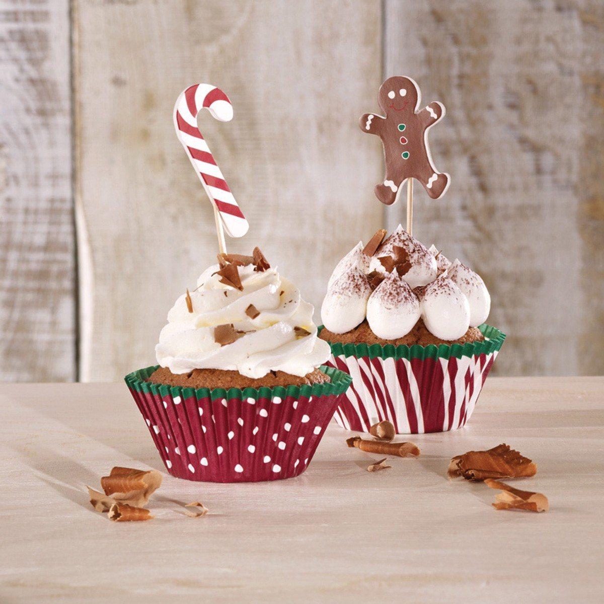Weihnachtliches CupCake Deco-Set