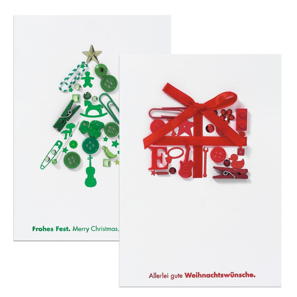 Weihnachtsallerlei - Grußkarte
