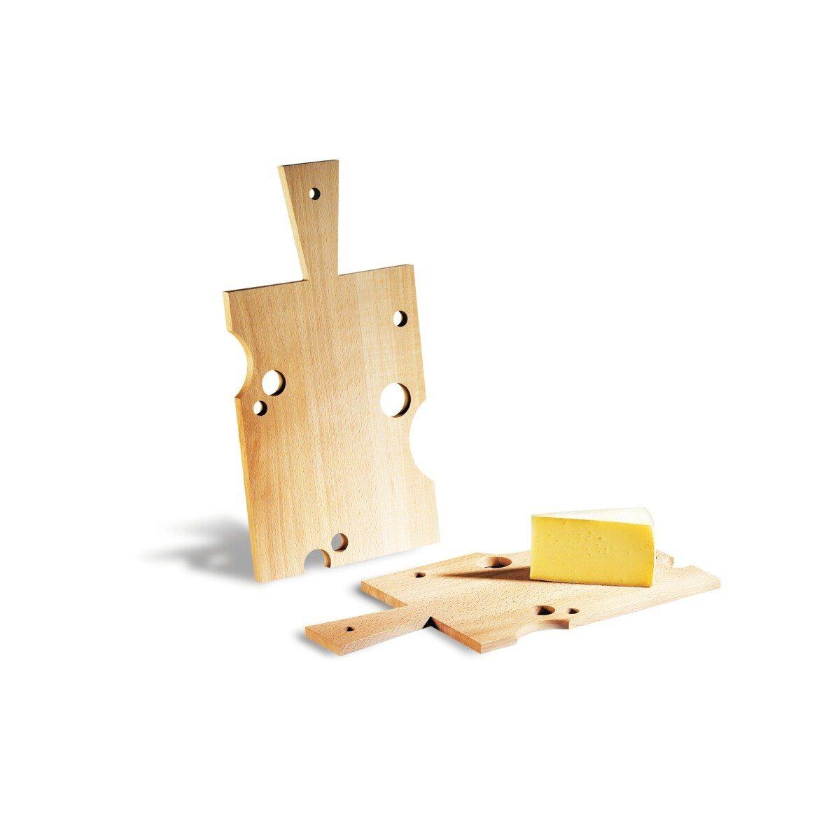 """Wenn, dann richtig: Käsebrett """"Käse"""""""