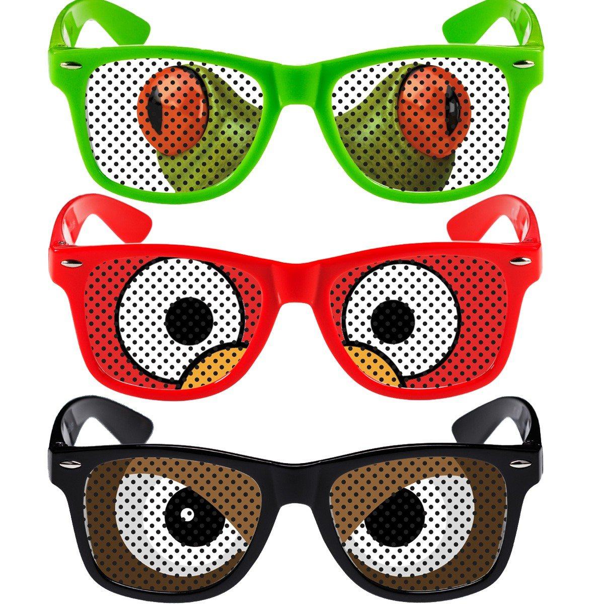 Witzige Brillen - Augen