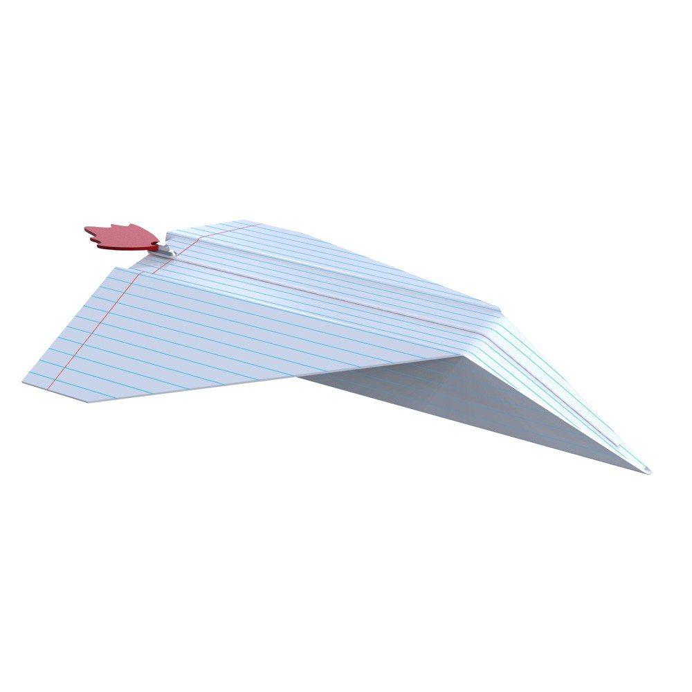 Federmäppchen im Papiermodell-Look - Flugzeug