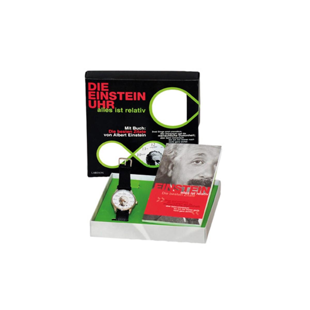 Geschenkset: Die Einsteinuhr